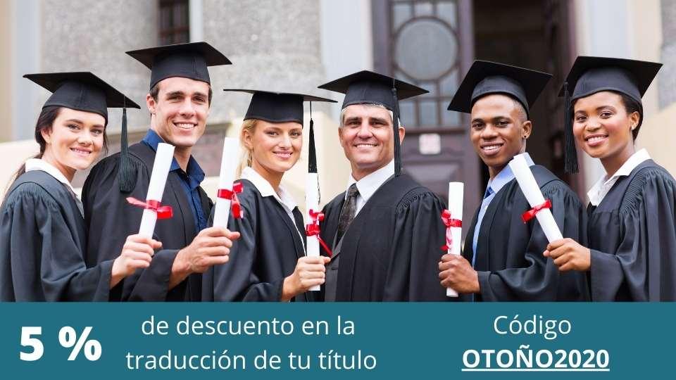 traducir el título universitario