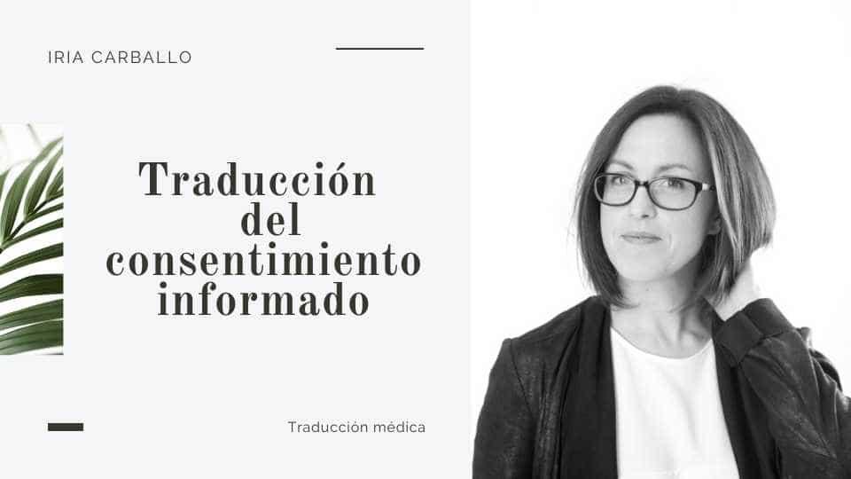 traducción médica del consentimiento informado del paciente
