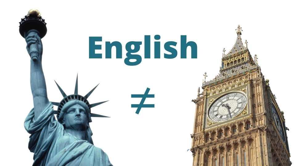 diferencias al traducir al inglés británico y al americano