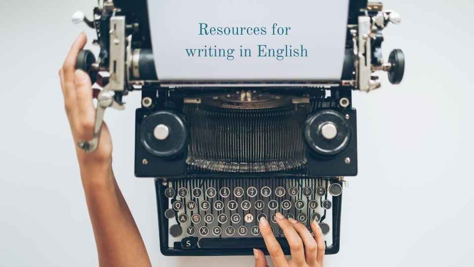 resources for writing in english