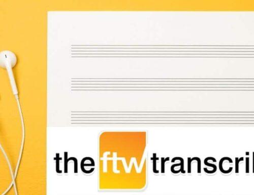 FTW Transcriber: uno de los programas de transcripción manual más eficaces
