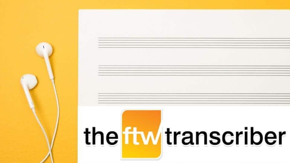 Tutorial FTW Trasncriber programa transcripcción manual