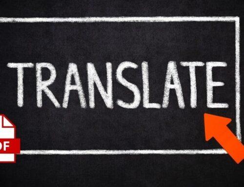 Cómo traducir un PDF del inglés al español gratis