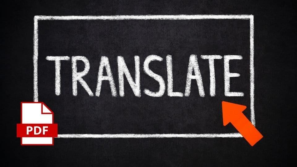 Cómo Traducir Un Pdf Del Inglés Al Español Gratis 2021