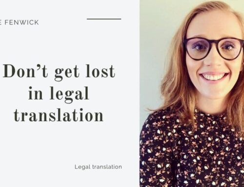 Don't get lost in legal translation