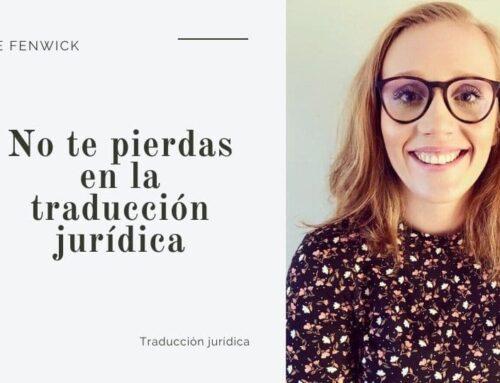 No te pierdas en la traducción legal